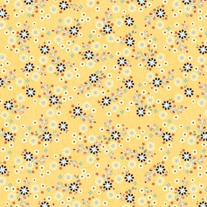 Patched Flowers Yellow