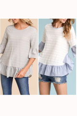 Sawyer Stripe Top