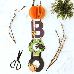 BOO Wall Hanging