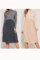 Tatem Turtle Neck Dress
