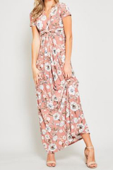 Emiliana Knot Maxi Dress