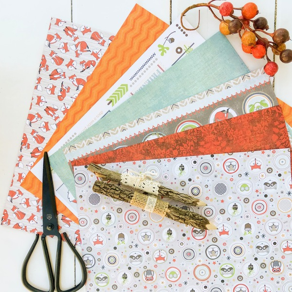 Woodland Paper Pack