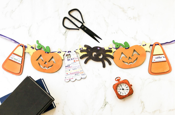 Cute Halloween Garland