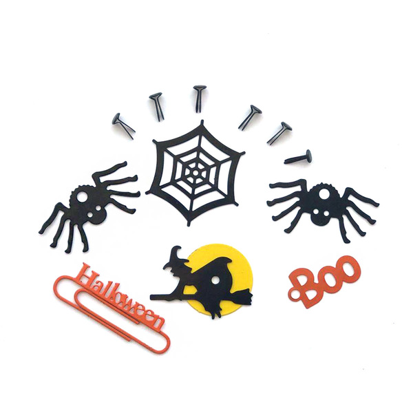 Halloween Metal Accents