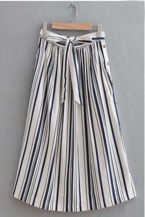 Sophie Stripe Skirt