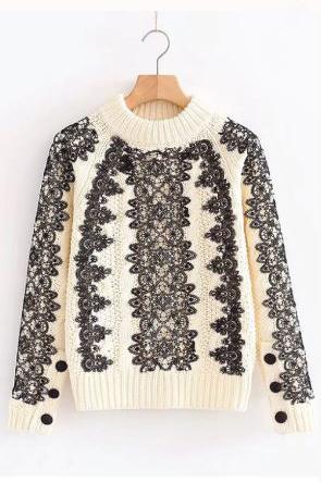 Wynna Lace Sweater
