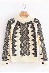Wynna Lace Sweater