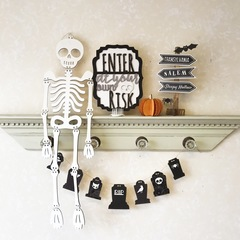 Black & White Spooky Halloween Collection