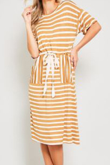 Gracelyn Waist Tie Dress