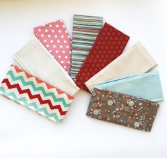 Coral pattern play Fat Quarters-8