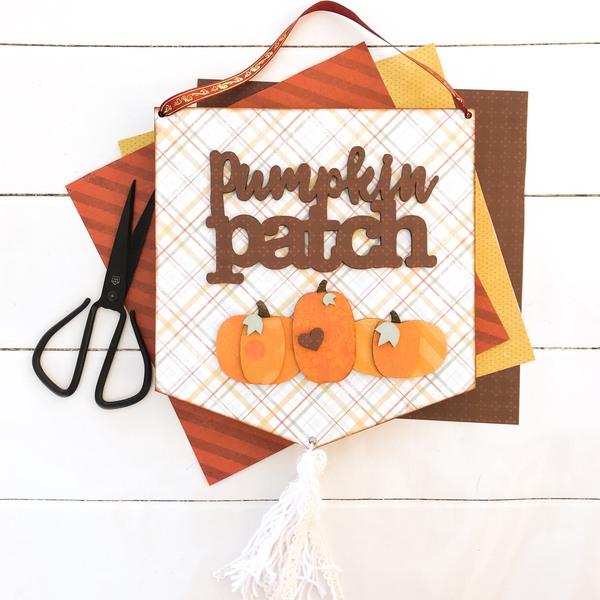 Pumpkin Patch Pennant