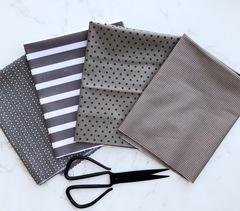 Shades of Gray yard cut set