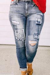 Patchwork KanCan Denim