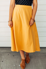 Sybil Midi Skirt