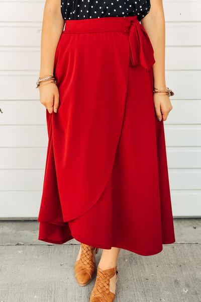 Waverly Wrap Skirt