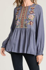 Reese Embroider Blouse
