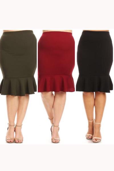Everyday Flounce Skirt