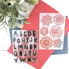 FAITHit stamp and stencil thick alpha