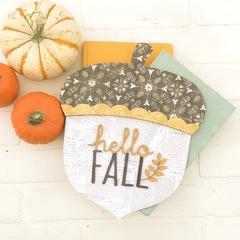 Hello Fall Acorn