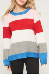 Ramsey Thick Stripes Sweater