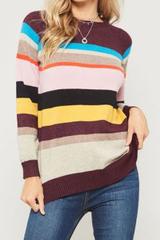 Malden Multi Stripe Sweater