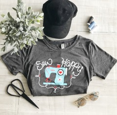 Sew Happy Tshirt