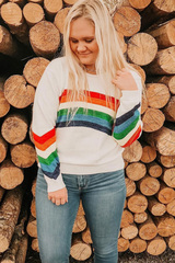 Over the Rainbow Pullover