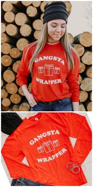 Gangster Wrapper Long Sleeve
