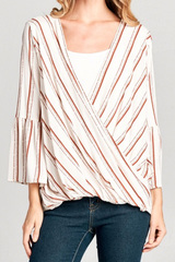 Dixie Wrap Top