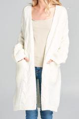Lennon Twist Knit Cardi