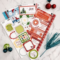 Holiday Cardstock Sticker Set