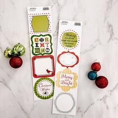 Holiday Jibber Jabber Stickers