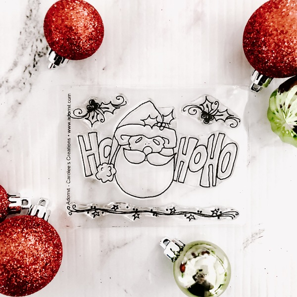 Holiday Santa - Clear Stamp