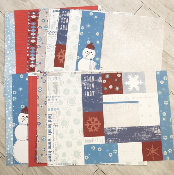 Modern Winter Paper Pack