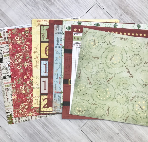 Vintage Holiday Paper Pack