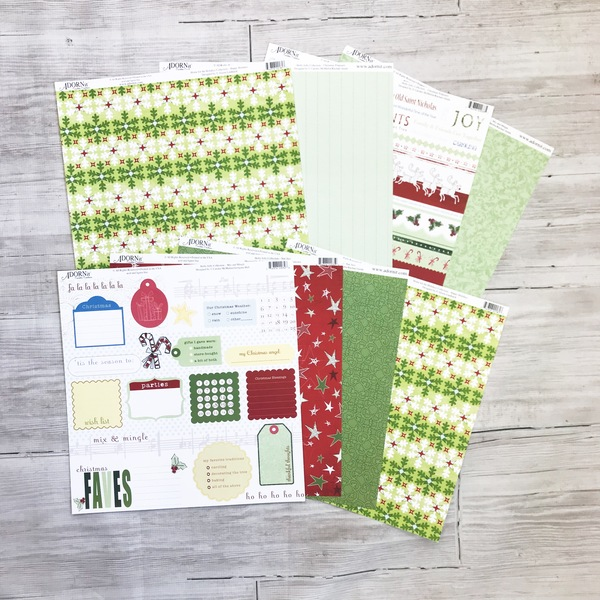 Green Holiday Paper Pack