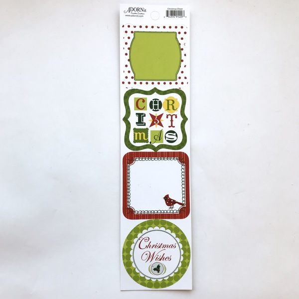 Christmas Cheer Jibber Jabber Sticker
