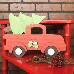 Christmas Pick Up Truck