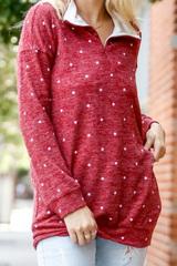 Hadley Polka Sweater
