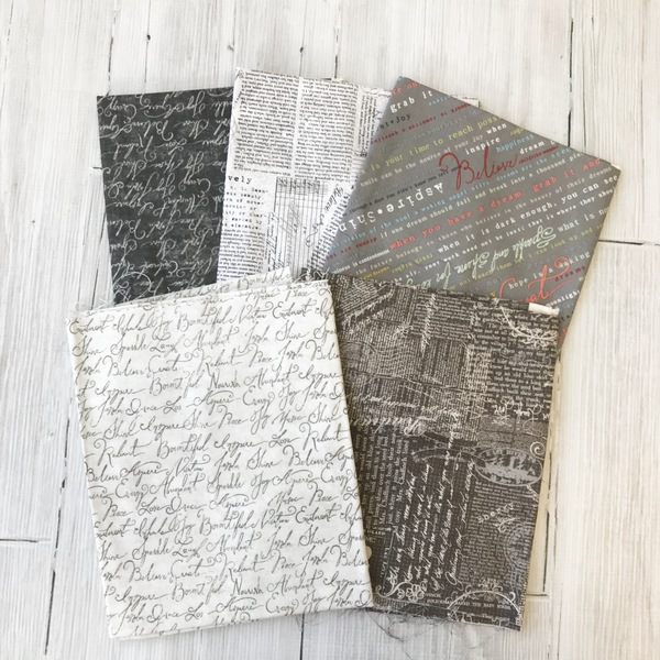 Calligraphy Half Yard Set