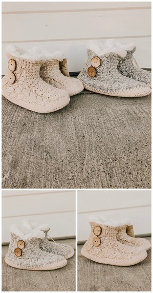 UGG Inspired Slippers