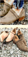 Rustic Olive Rager Booties