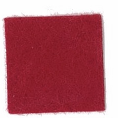 Apple Red- Felt