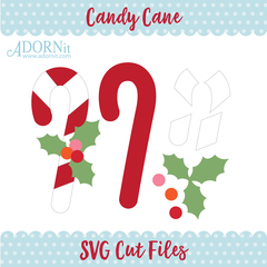 Candy Cane - Instant Digital Download SVG File