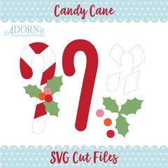 Candy Cane - Instant Digital Download SVG File