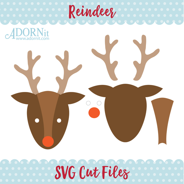 Reindeer - Instant Digital Download SVG File