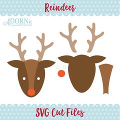 Reindeer - Instant Digital Download SVG File
