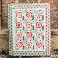 Aztec Blossoms Quilt Kit