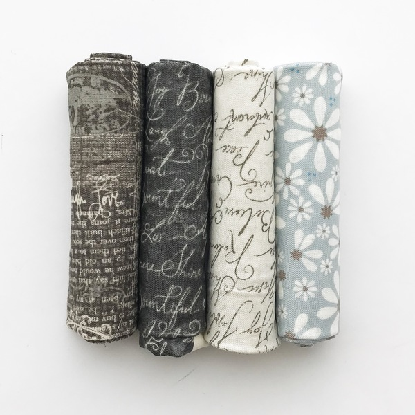Calligraphy Fat Quarter Set (4)
