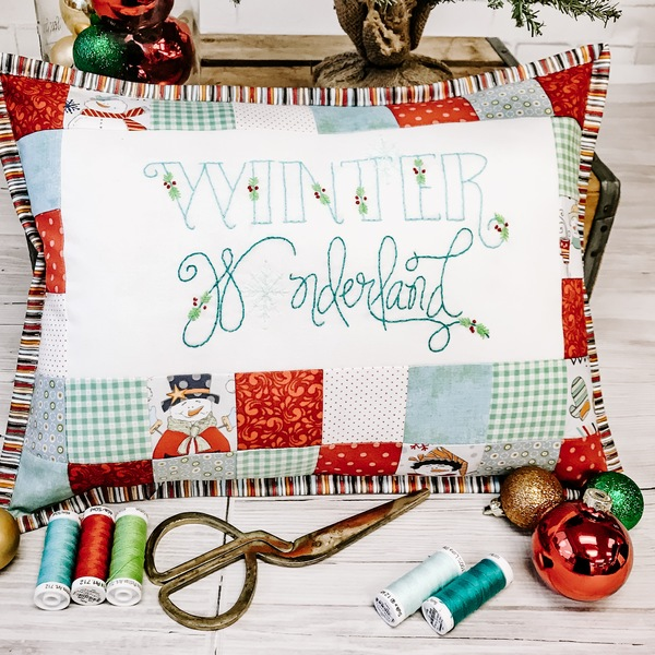 Winter Wonderland Pillow case